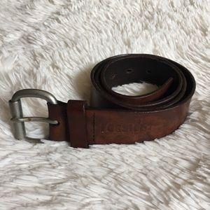 Men's Fossil Belt. Genuine leather